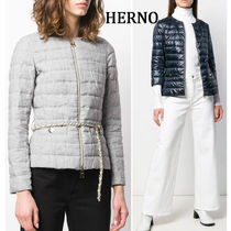 HERNO Short Chain Plain Down Jackets