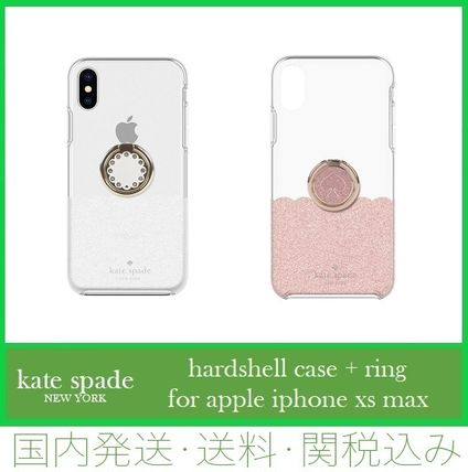 official photos 8423c 7fbae kate spade new york 2019 Cruise 【SALE】hardshell case + ring for apple  iphone xs max