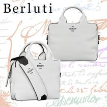Berluti Calfskin Plain Business & Briefcases