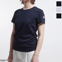 MONCLER Short Cotton Short Sleeves Cropped