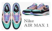 Nike AIR MAX 1 Unisex Street Style Collaboration Sneakers