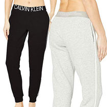 Calvin Klein Casual Style Sweat Plain Long Sweatpants