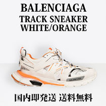 BALENCIAGA Unisex Studded Street Style Bi-color Sneakers
