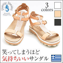 Fantasy Sandals Casual Style Leather Sport Sandals Flat Sandals