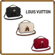 Louis Vuitton MONOGRAM EMPREINTE Monogram Tassel 2WAY Plain Leather Elegant Style