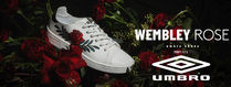 UMBRO Flower Patterns Unisex Street Style Leather Sneakers