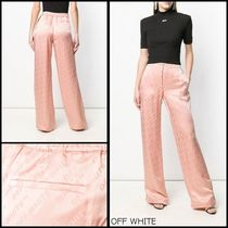 Off-White Casual Style Long Pants