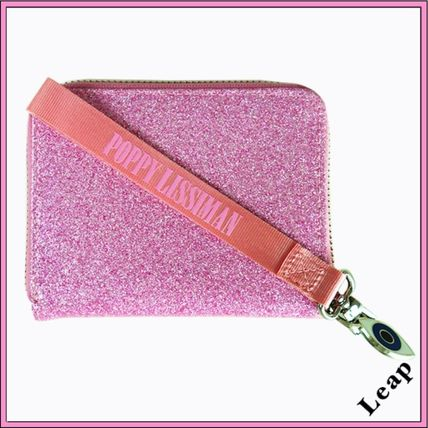 Unisex Faux Fur Street Style Plain Folding Wallets