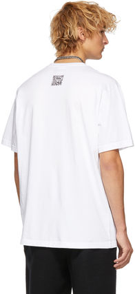 VETEMENTS Crew Neck Crew Neck Street Style Cotton Short Sleeves 4