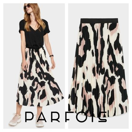 Pleated Skirts Long Maxi Skirts