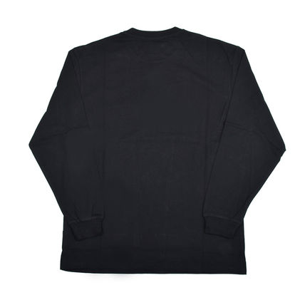 MSGM Long Sleeve Crew Neck Pullovers Street Style Long Sleeves Cotton 2