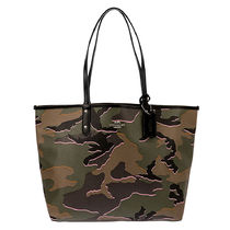 Coach Camouflage Casual Style Totes