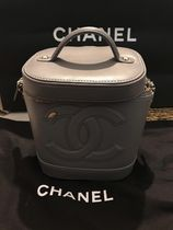 CHANEL Casual Style Lambskin 2WAY 3WAY Plain Leather Party Style