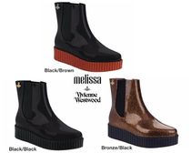 Melissa Platform Collaboration PVC Clothing Elegant Style