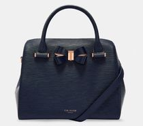 TED BAKER 2WAY Plain Leather Office Style Shoulder Bags