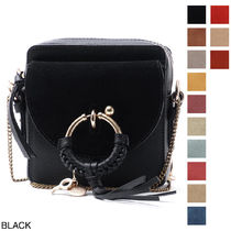 See by Chloe Leather Elegant Style Shoulder Bags