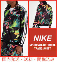 Nike Flower Patterns Track Jackets