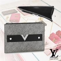 Louis Vuitton EPI Bi-color Leather Clutches
