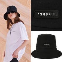 13MONTH Unisex Street Style Bucket Hats Wide-brimmed Hats