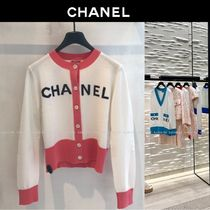 CHANEL Long Sleeves Cotton Cardigans