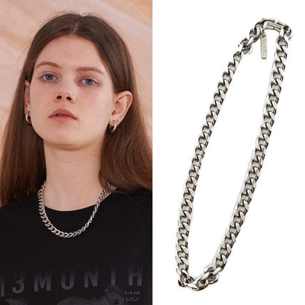 Unisex Street Style Plain Necklaces & Chokers