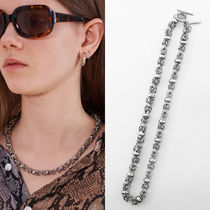 13MONTH Unisex Street Style Chain Plain Necklaces & Chokers