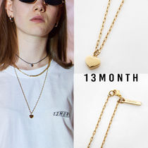 13MONTH Casual Style Unisex Street Style Chain Necklaces & Pendants