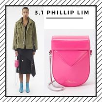 3.1 Phillip Lim Street Style 2WAY Chain Plain Leather Party Style