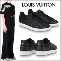 Louis Vuitton MONOGRAM Other Check Patterns Unisex Blended Fabrics Street Style