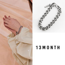 13MONTH Casual Style Unisex Street Style Chain Bracelets