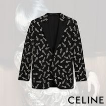CELINE Short Plain Blazers Jackets