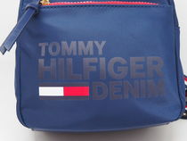 Tommy Hilfiger Casual Style Street Style Plain Logo Backpacks