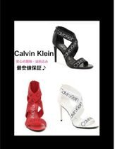 Calvin Klein Open Toe Pin Heels Heeled Sandals