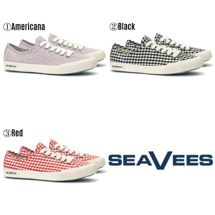 Stripes Other Check Patterns Low-Top Sneakers