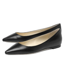 Jimmy Choo Plain Leather Slip-On Shoes
