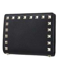 VALENTINO Studded Folding Wallets