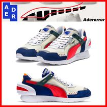 ADERERROR Unisex Street Style Collaboration Low-Top Sneakers
