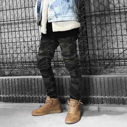 Camouflage Street Style Skinny Fit Pants