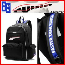 ADERERROR Unisex Street Style Collaboration Backpacks