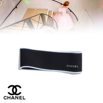 CHANEL Casual Style Blended Fabrics Street Style Headbands