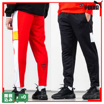 PUMA Unisex Street Style Collaboration Plain Cropped Pants