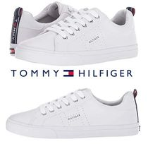 Tommy Hilfiger Round Toe Casual Style Street Style Low-Top Sneakers
