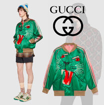 GUCCI Wool Other Animal Patterns Souvenir Jackets