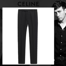 CELINE Wool Plain Pants