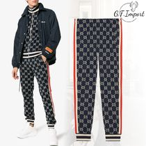GUCCI Street Style Cotton Pants