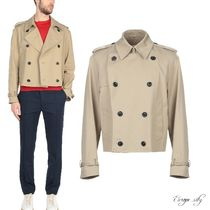 Maison Martin Margiela Short Plain Peacoats Coats