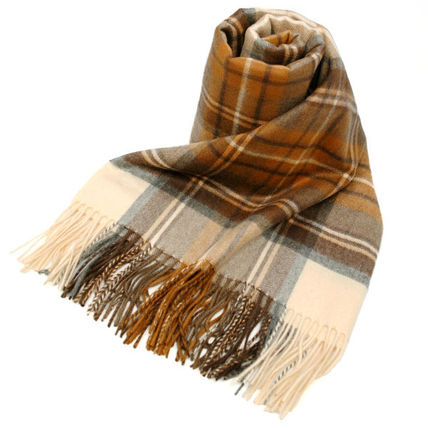 Casual Style Cashmere Accessories
