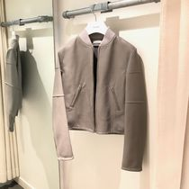 CELINE Plain Leather Biker Jackets