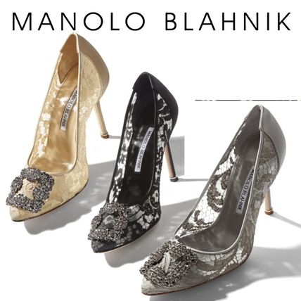 f04f297d289 Manolo Blahnik Hangisi Pumps   Mules by princessshop - BUYMA