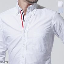 THOM BROWNE Long Sleeves Cotton Shirts